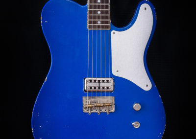 Blue Tatalias Tele Tribute Series Close Up